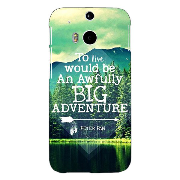 HTC One M8 Printed Cover By 1 Crazy Designer