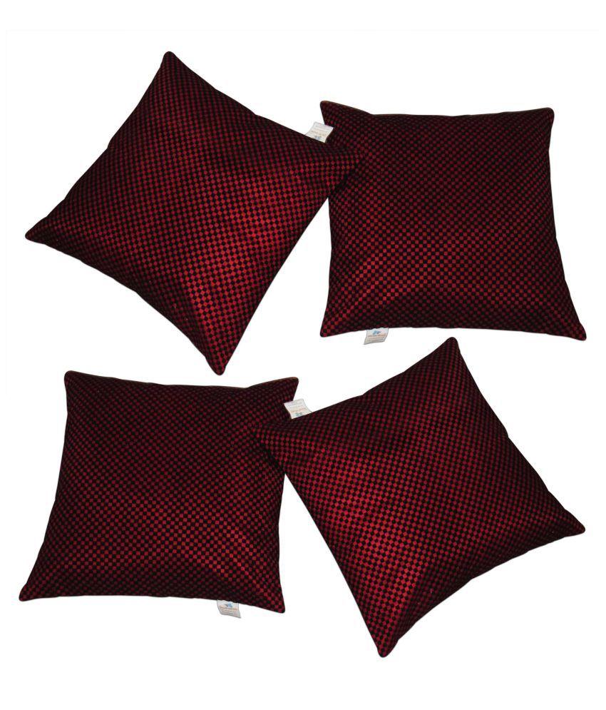 Zikrak Exim Buy 2 Get 2 Free Cushion cover