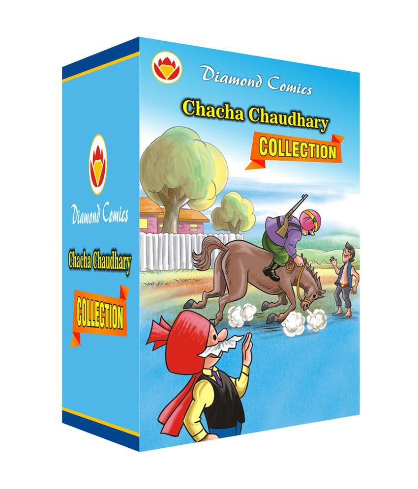 Diamond Comics Chacha Chaudhary Collection Box