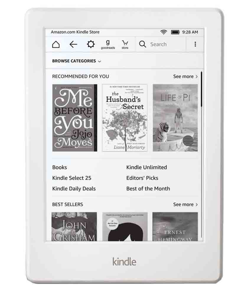 Kindle All New Kindle Basic White ( Wifi Only No Voice Calling )