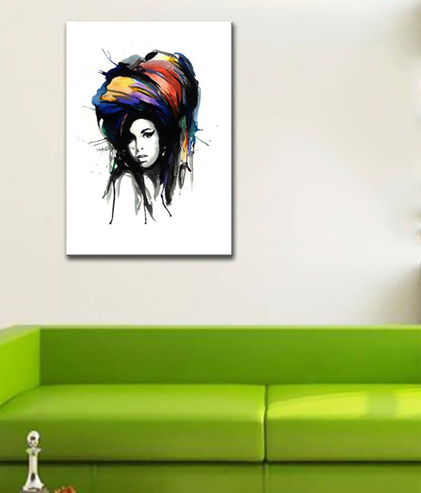 Tallenge Amy Canvas Art Prints Without Frame Single Piece