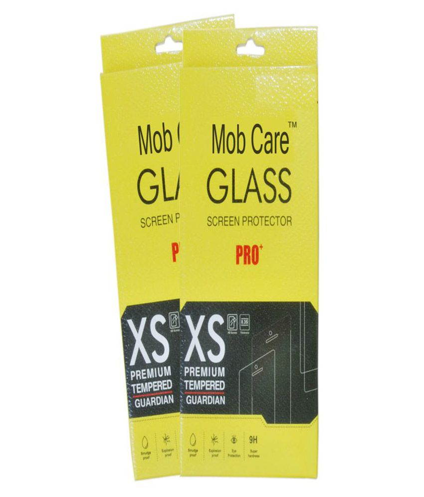 Coolpad Note 3 Plus Tempered Glass Screen Guard By Mob Care - Pack of 2