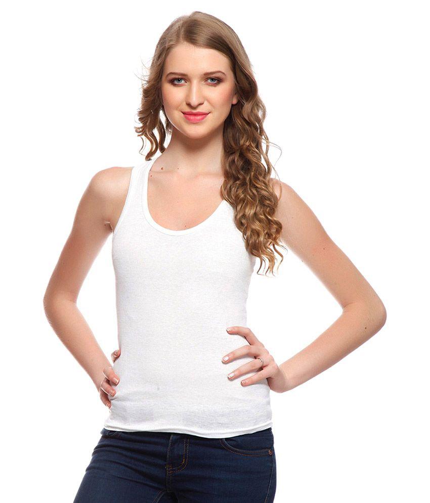 Gopalvilla White Cotton Bras
