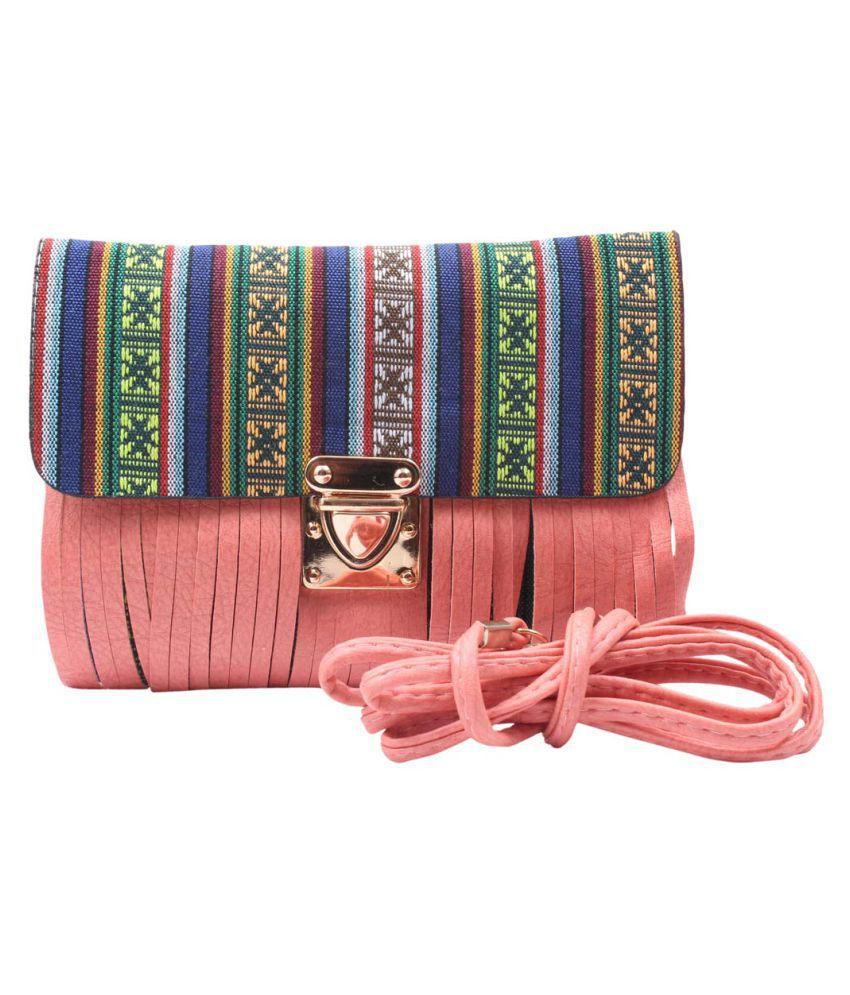 Raas Bazaar Multi Faux Leather Sling Bag