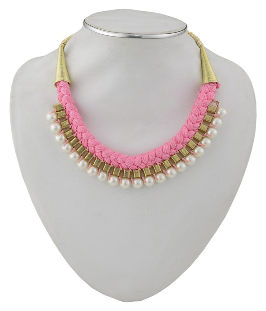 Renaissance Traders Pink Necklace