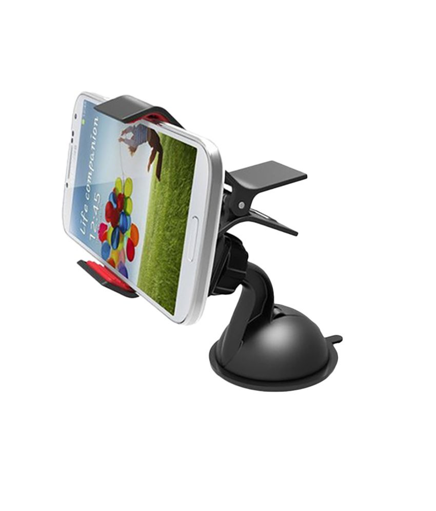 4952ed49c92 R Mangal Black Plastic Car Mobile Holder  Buy R Mangal Black Plastic Car Mobile  Holder Online at Low Price in India on Snapdeal