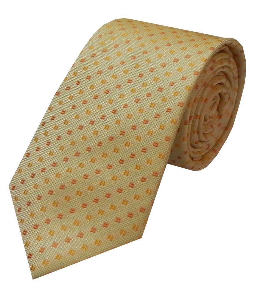 Navaksha GoldenRod Party Necktie