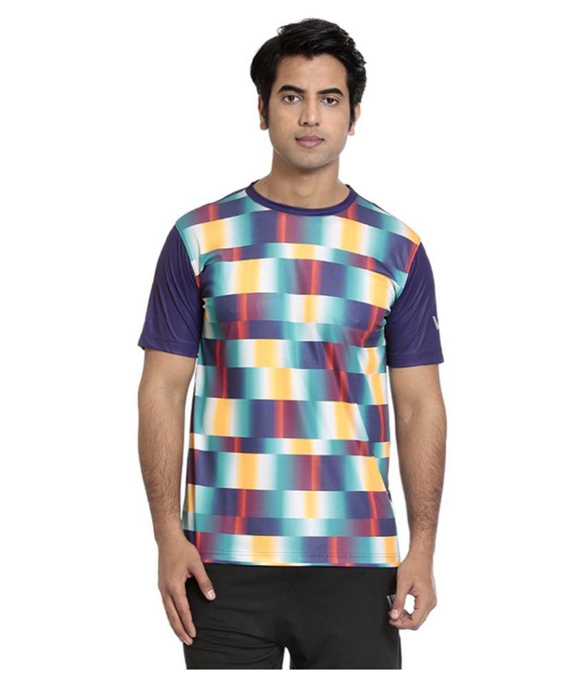 Seven Multicolour Polyester T-Shirt