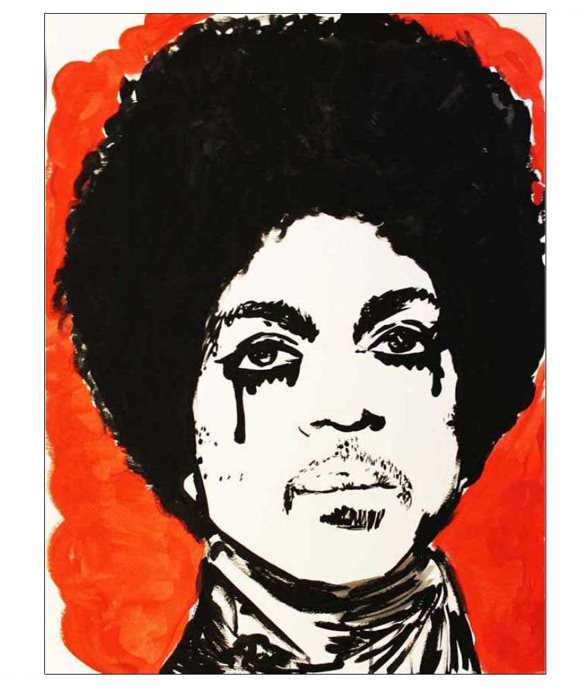 Tallenge RIP Prince Rolled Canvas Art Prints Without Frame Single Piece