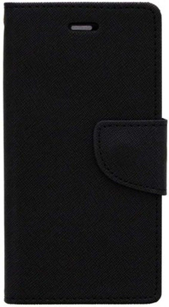 Apple iPhone 5 Flip Cover by Doyen Creations - Black