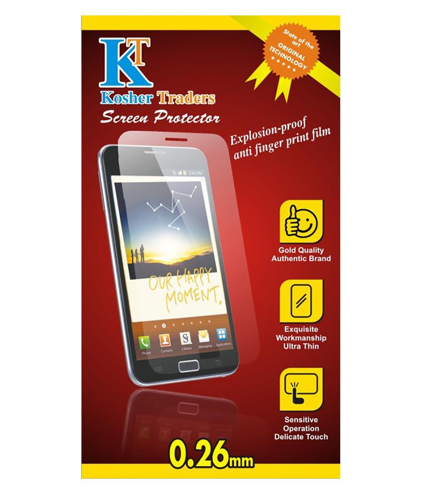Micromax Unite 3 Q372 Tempered Glass Screen Guard By Kosher Traders