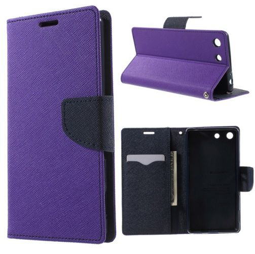 Xiaomi Redmi 4 Flip Cover by Rendezvous - Purple