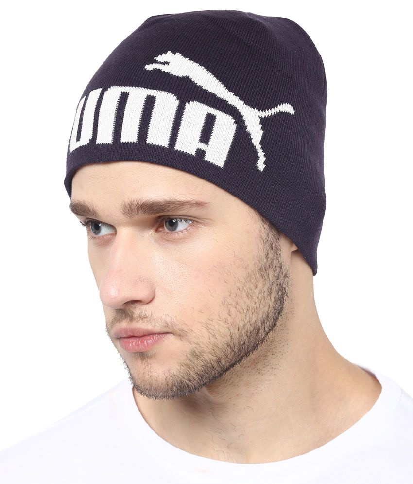 Puma Blue Summer Caps For Men