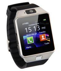 Rooq DZ09 Bluetooth Smart Watch - Silver