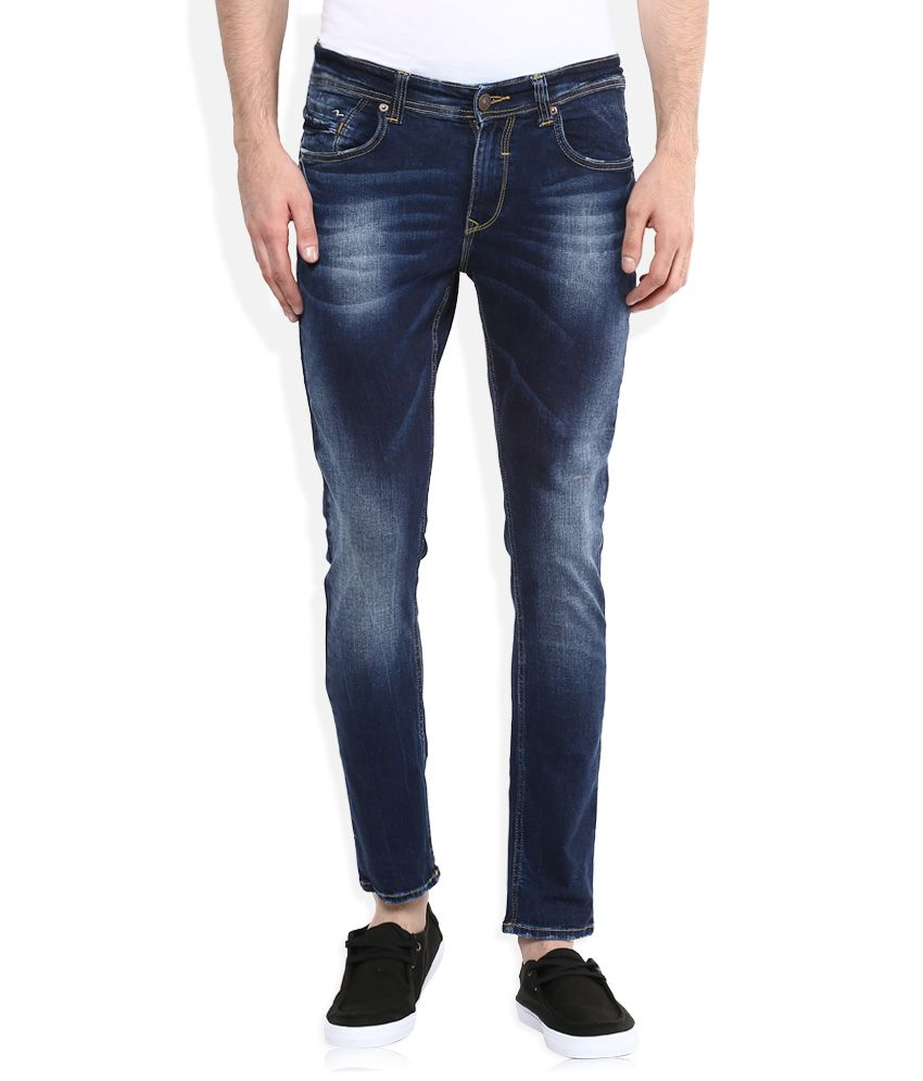 9bbb26517c3d49 Spykar Blue Low Rise Super Skinny Fit Jeans - Buy Spykar Blue Low Rise  Super Skinny Fit Jeans Online at Best Prices in India on Snapdeal