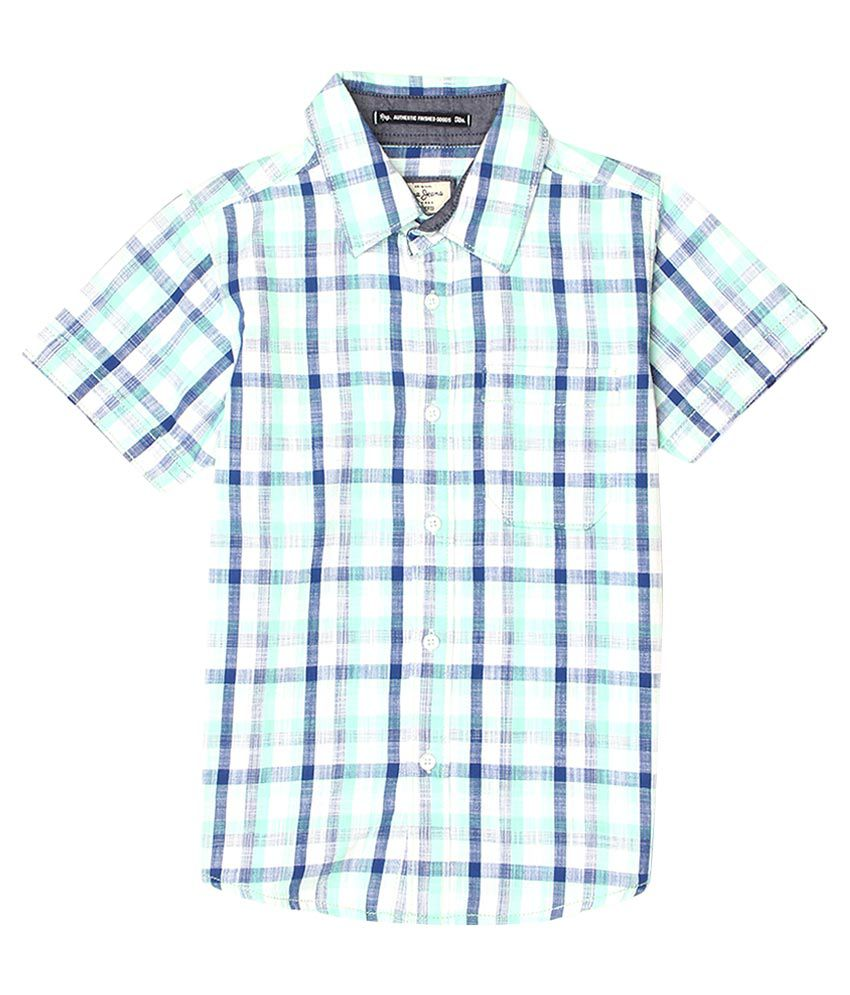Pepe Multicoloured Checked Regular Fit Shirt