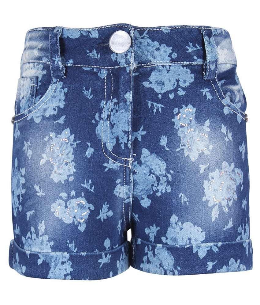 Cutecumber Blue Shorts