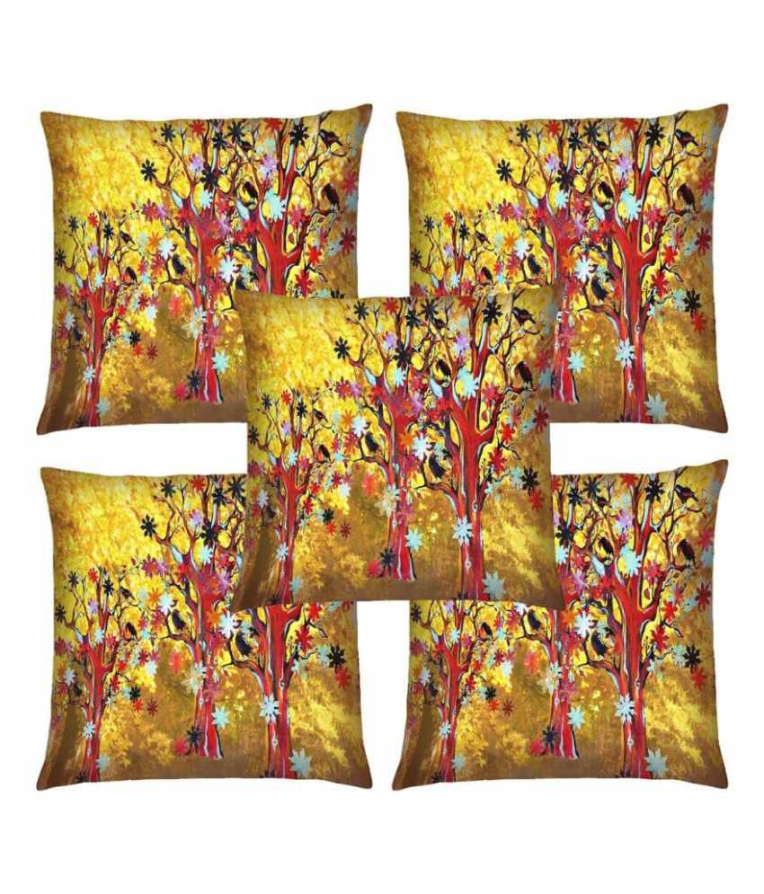 Magical Knots Set of 5 Satin Cushion Covers
