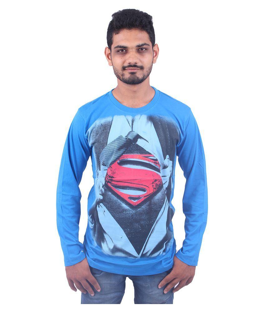OOM Blue Round T-Shirt