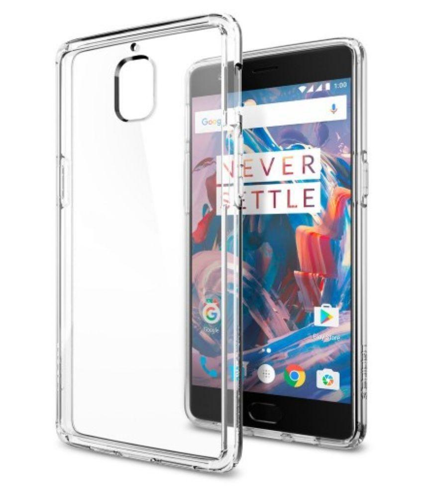 innovative design d8d81 2d64a Spigen OnePlus 3/3T OP3 Case Ultra Hybrid Crystal Clear K03CS20616