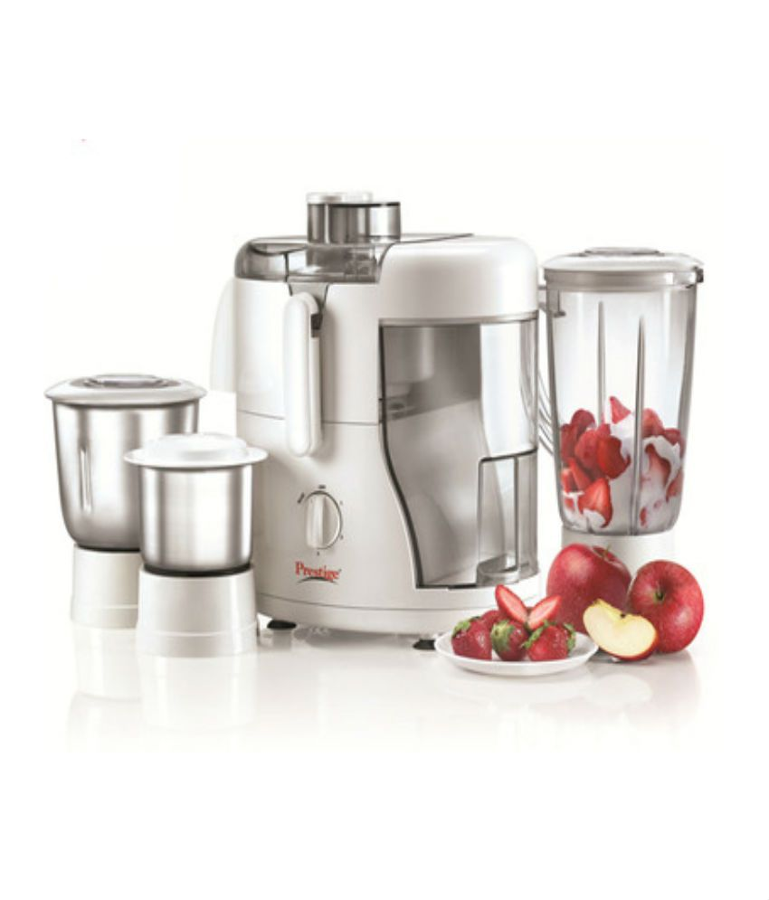 Prestige Champ 550 Watt 3 Jar Juicer Mixer Grinder Price in India ...