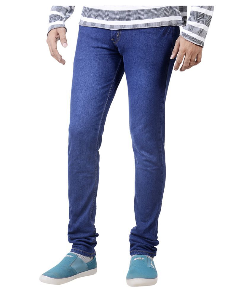 Wild Denims Blue Skinny Solid