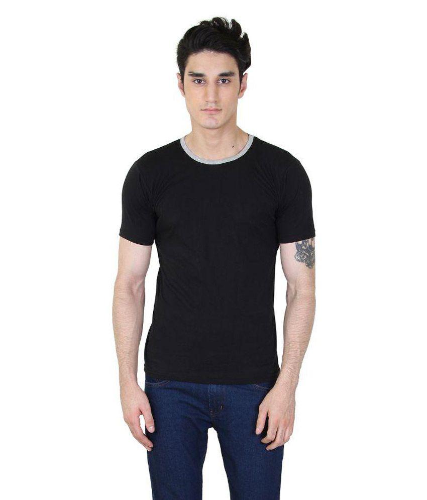 SSBD Black Round T-Shirt