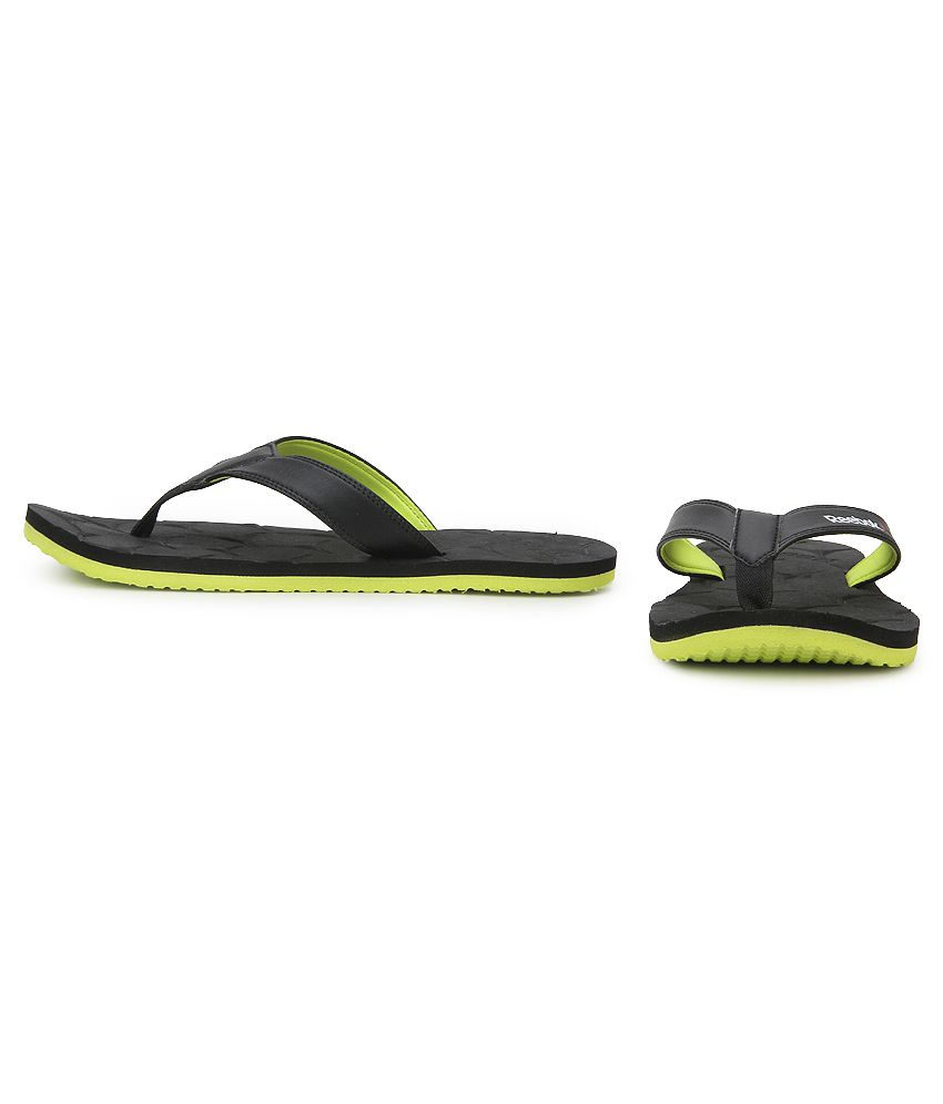 7410c9286 Reebok Gradient Flip III (BD3861) Black Flip Flops Price in India ...