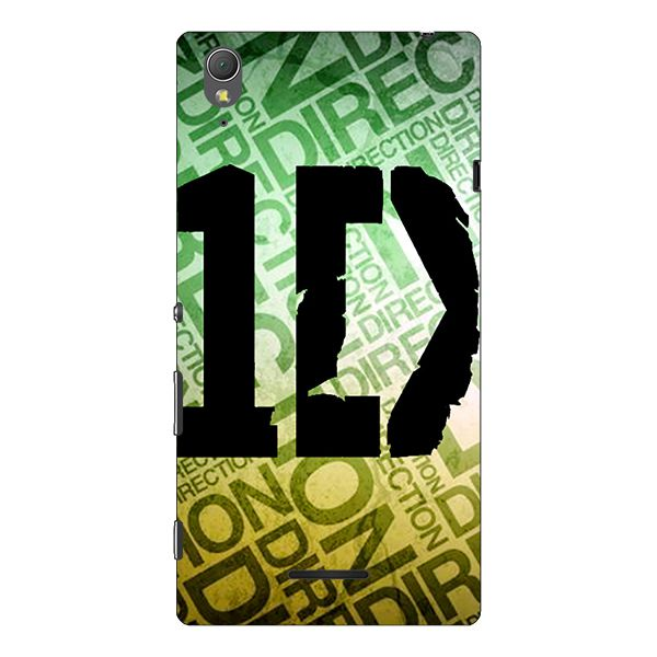 Sony Xperia T3 Printed Cover By 1 Crazy Designer
