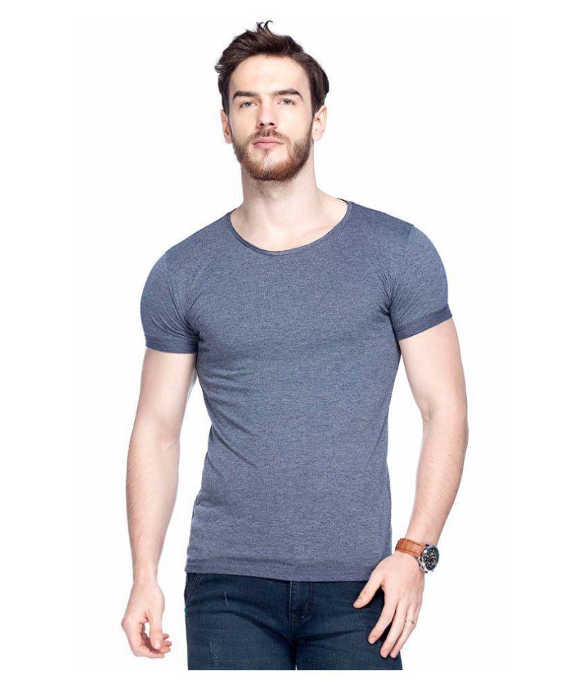 Tinted Navy Round T-Shirt