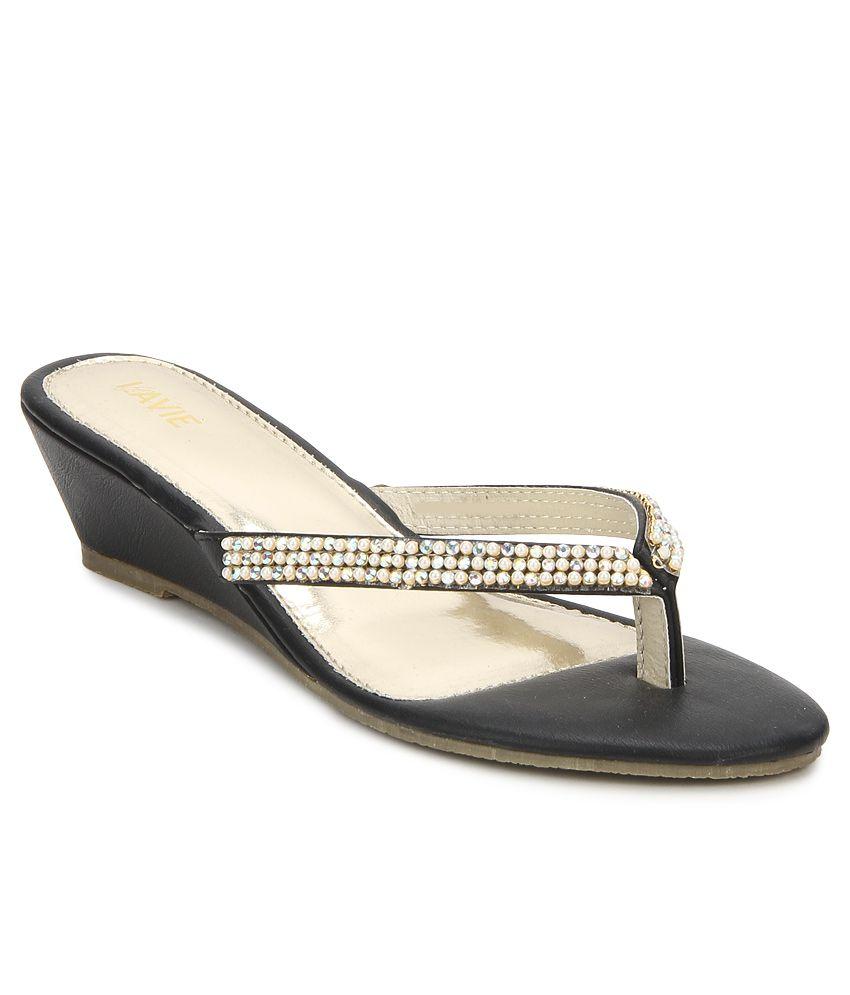 Lavie Blue Wedge Heels