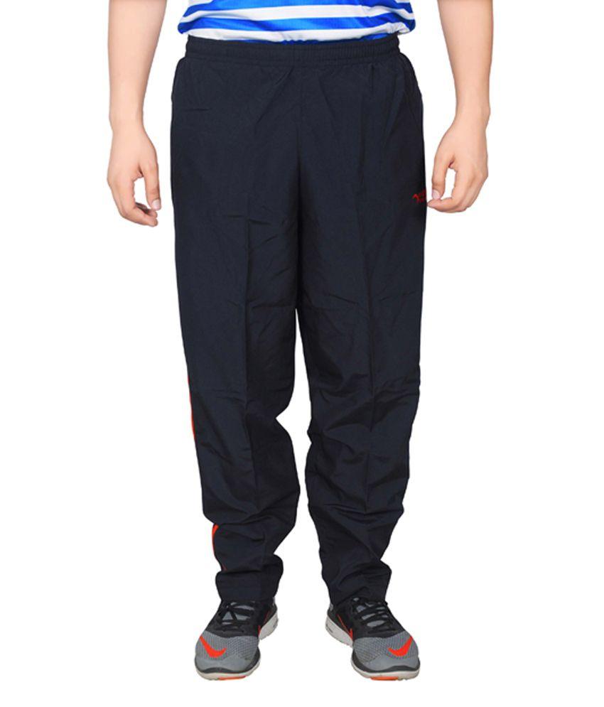 NNN Navy Blue Full Length Dry Fit Men's Track Pant