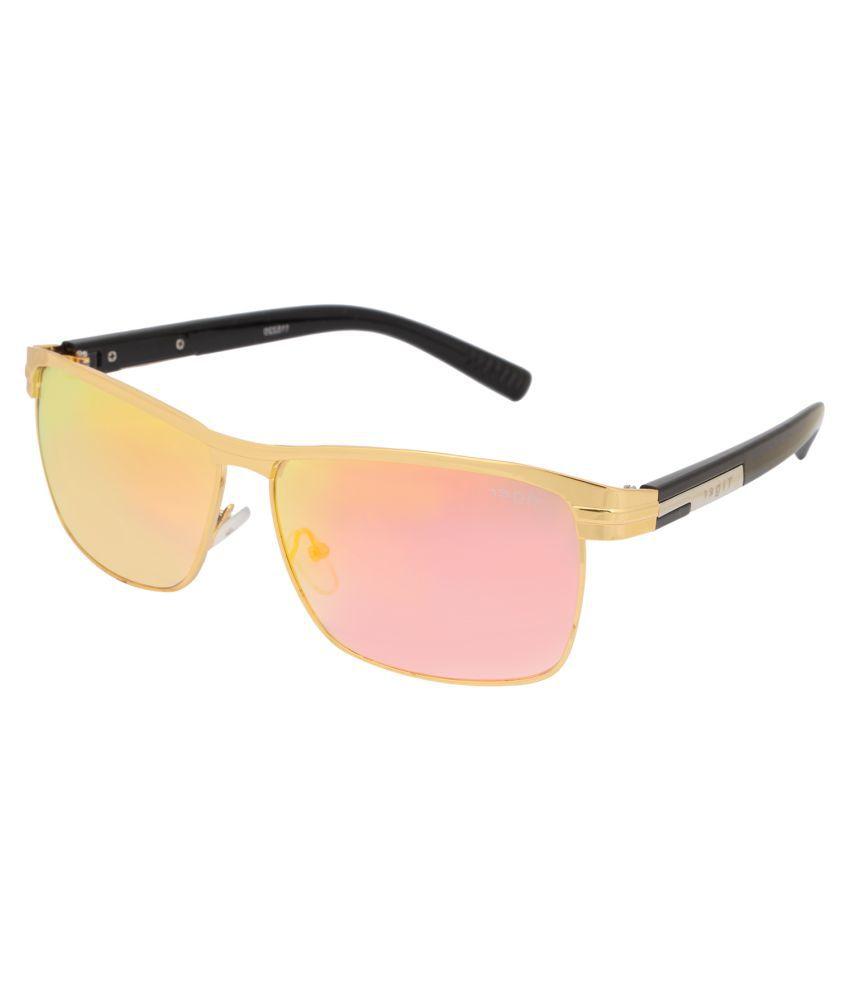 Tiger Eyewear Multicolor Square Sunglasses ( )