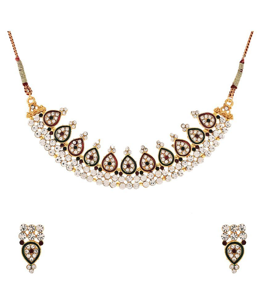 Zeneme Multicolour Necklace Set