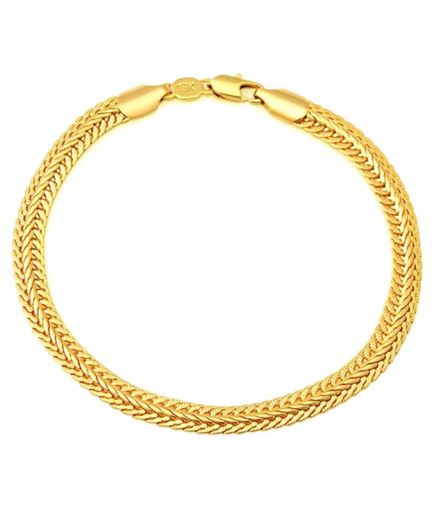 8e3dd34d0 Anvi Jewellers Golden Chain: Buy Anvi Jewellers Golden Chain Online in India  on Snapdeal