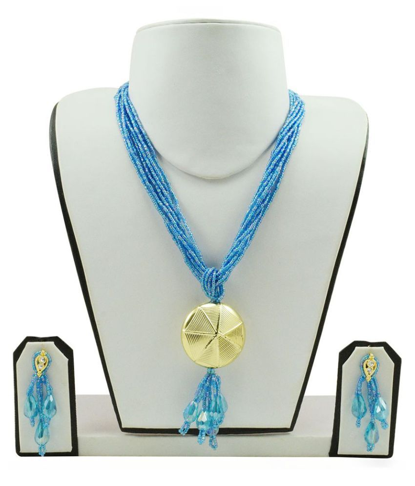 Fashionvalley Blue Necklace Set