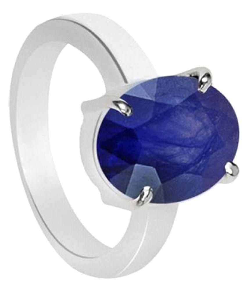 Gem Mines 92.5 Rose & White Gold Sapphire Ring