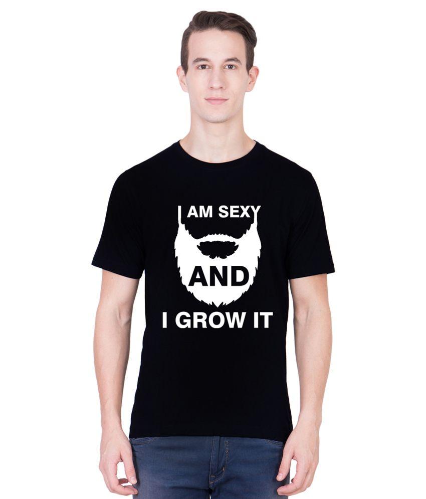 Andshand Black Round T-Shirt