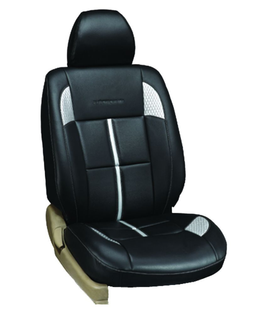 kvd autozone black leather car seat cover buy kvd autozone black leather car seat cover online. Black Bedroom Furniture Sets. Home Design Ideas
