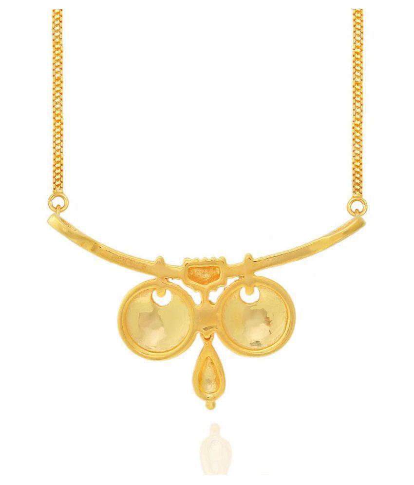 Maya Gold 22k BIS Hallmarked Gold Necklace