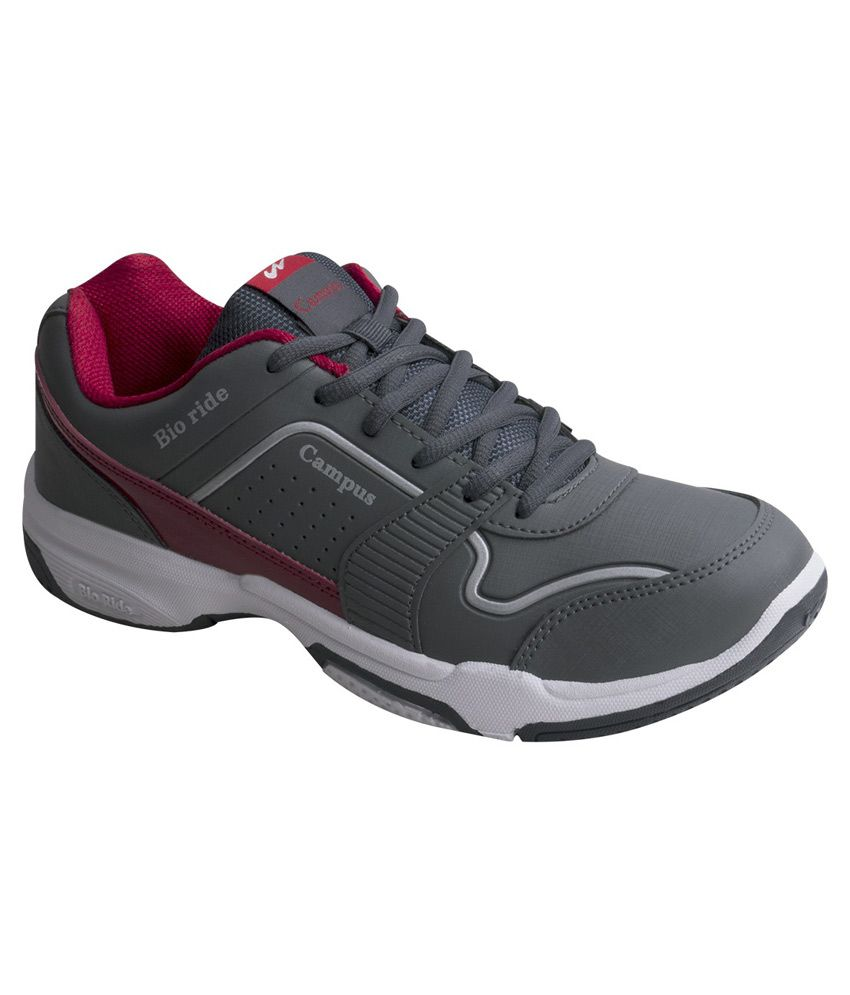 Campus BIO-RIDE Gray Running Shoes