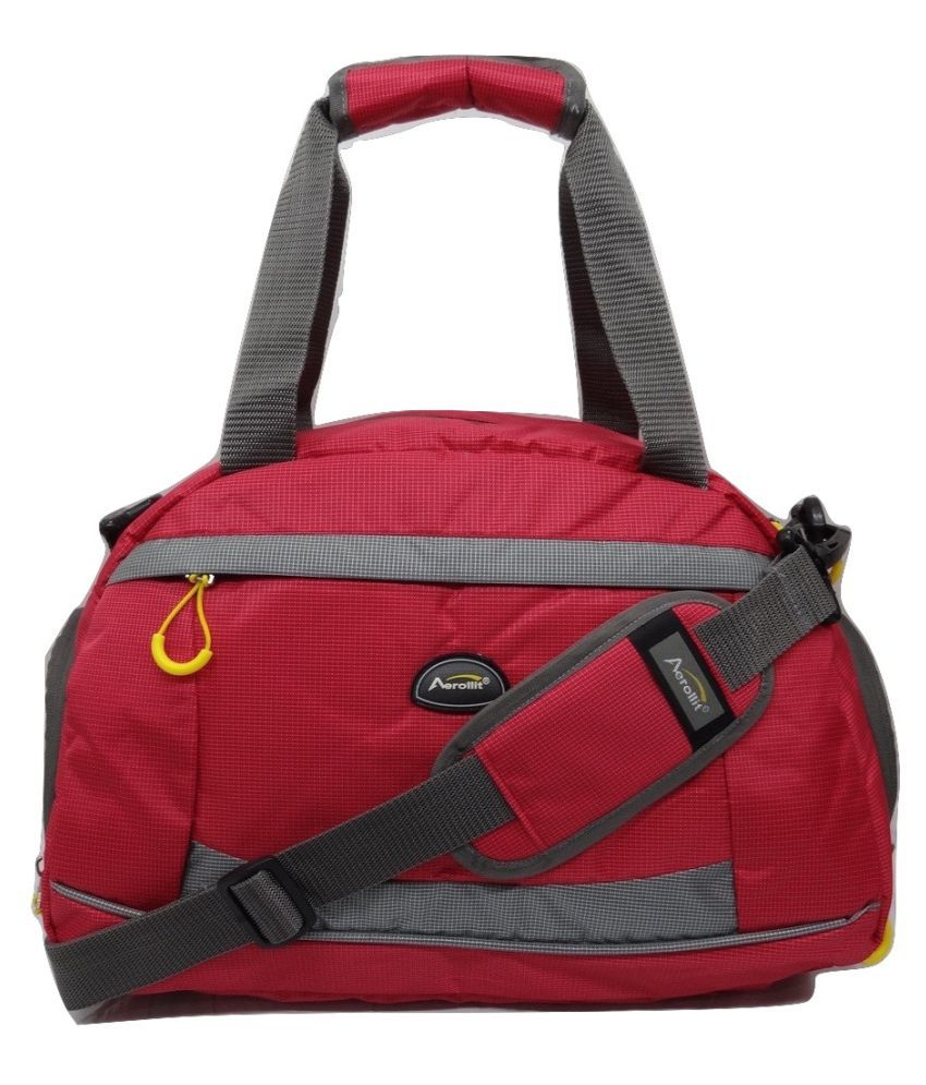 Aerollit Red Gym Bag