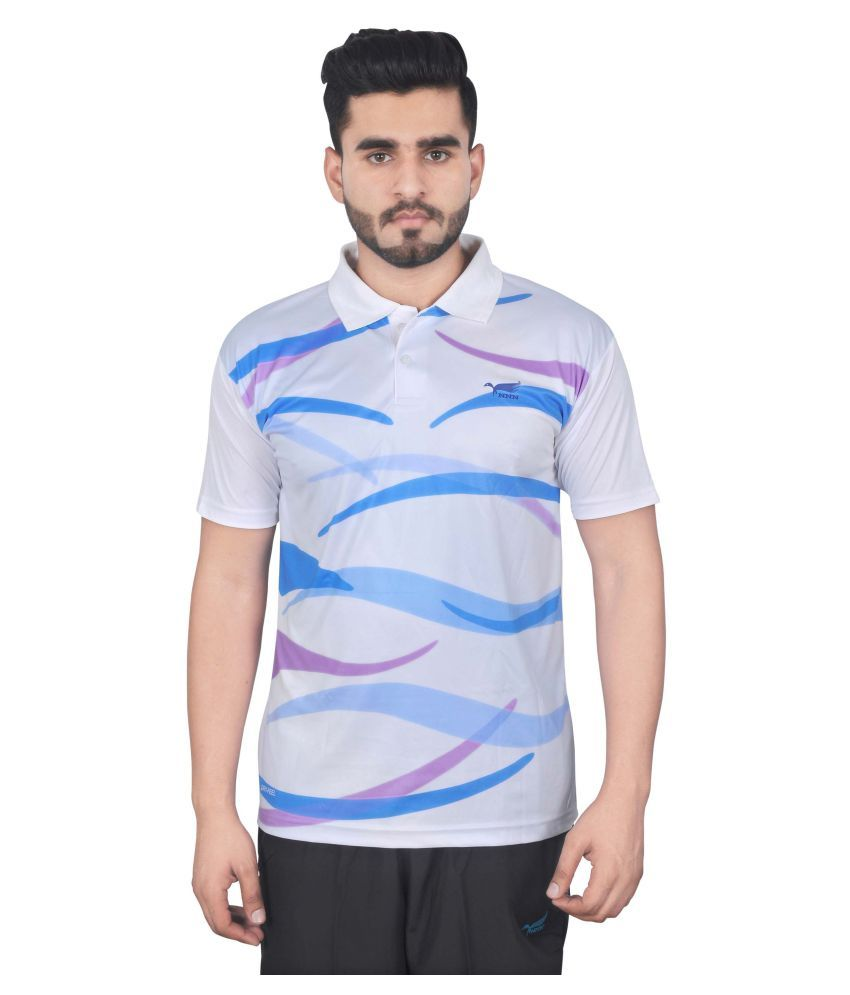 NNN Multicolour Polyester T-Shirt