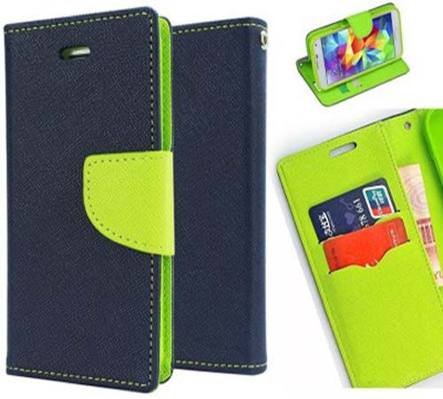 sale retailer f4519 178d7 Xiaomi Redmi Note 4 Flip Cover by Red Plus Mercury - Blue