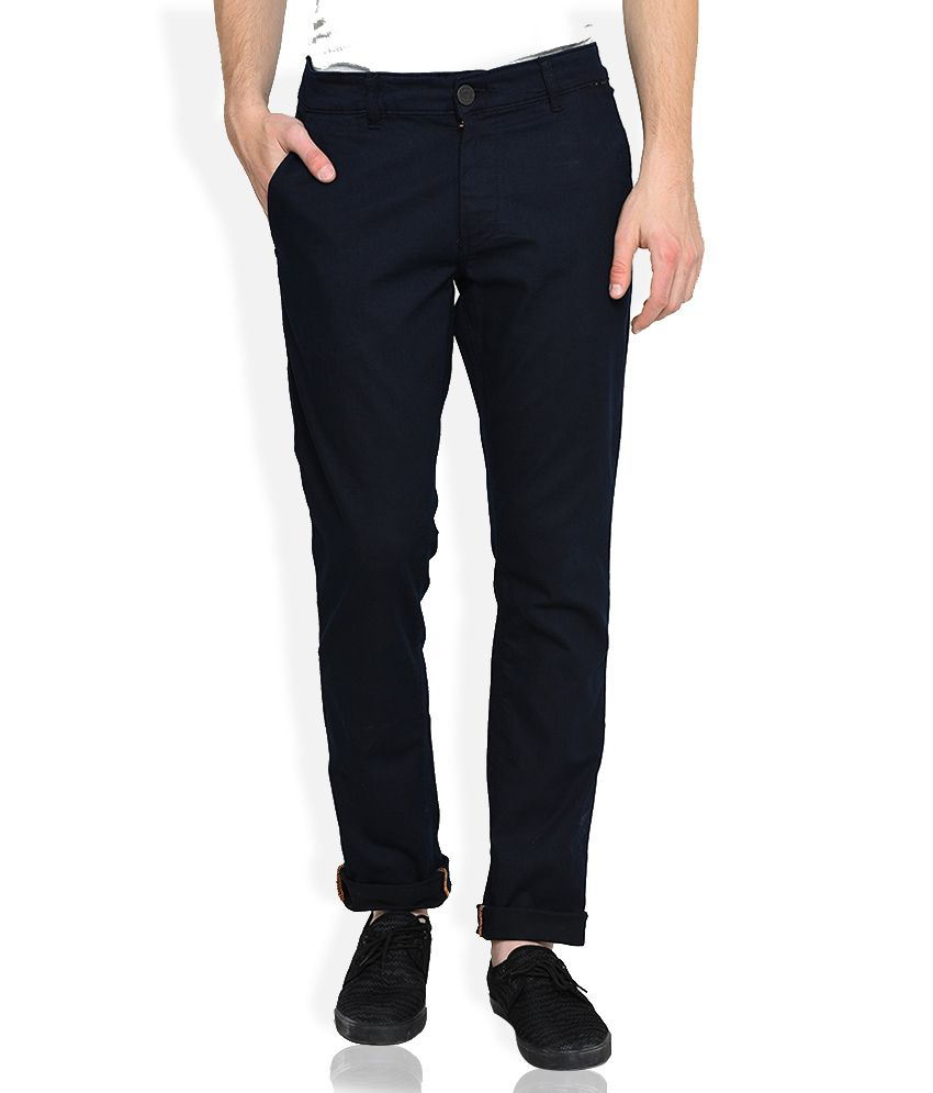 John Players Black Low Rise Skinny Fit Jeans