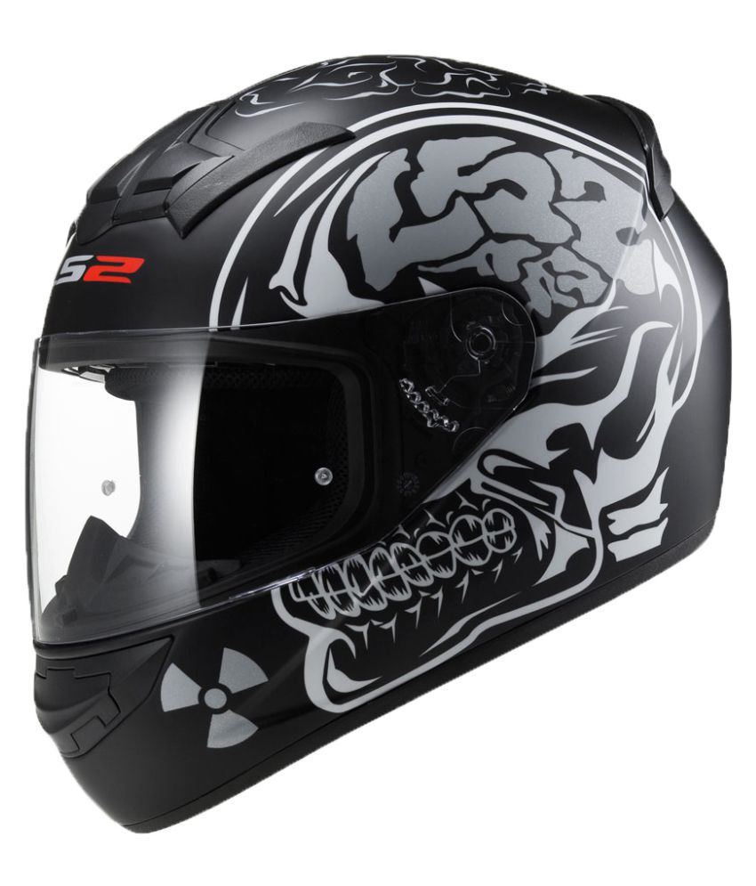 Ls2 Ff352 Xl Rookie X Ray Full Face Helmet Matte Black