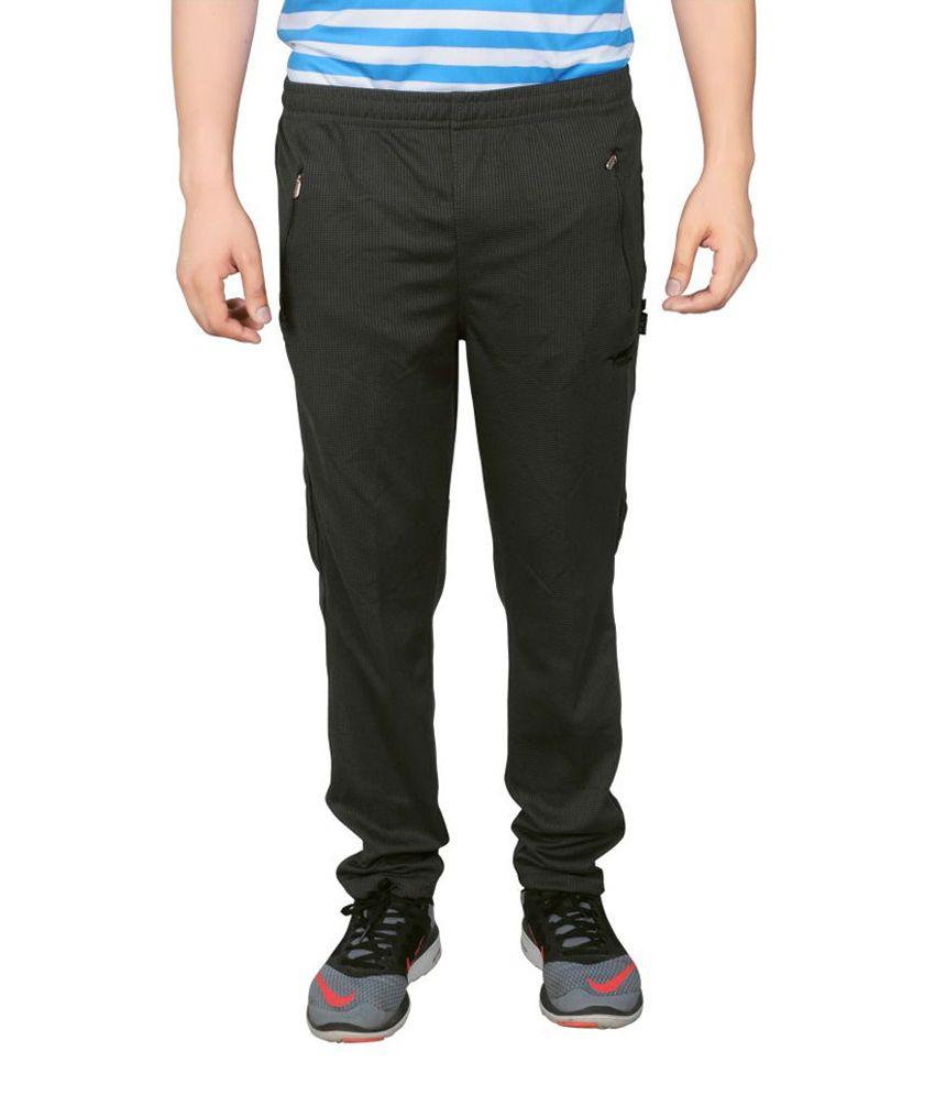 NNN Dark Grey Full Length Dry Fit Men's Track Pant