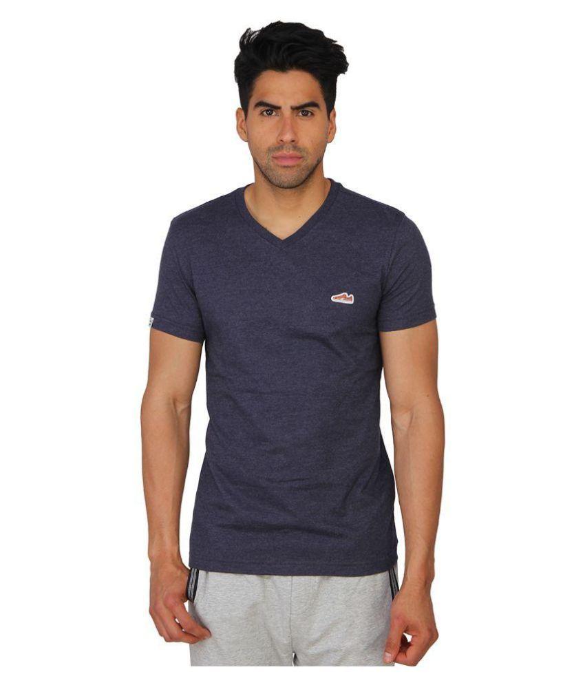 Puma Purple Cotton T-Shirt