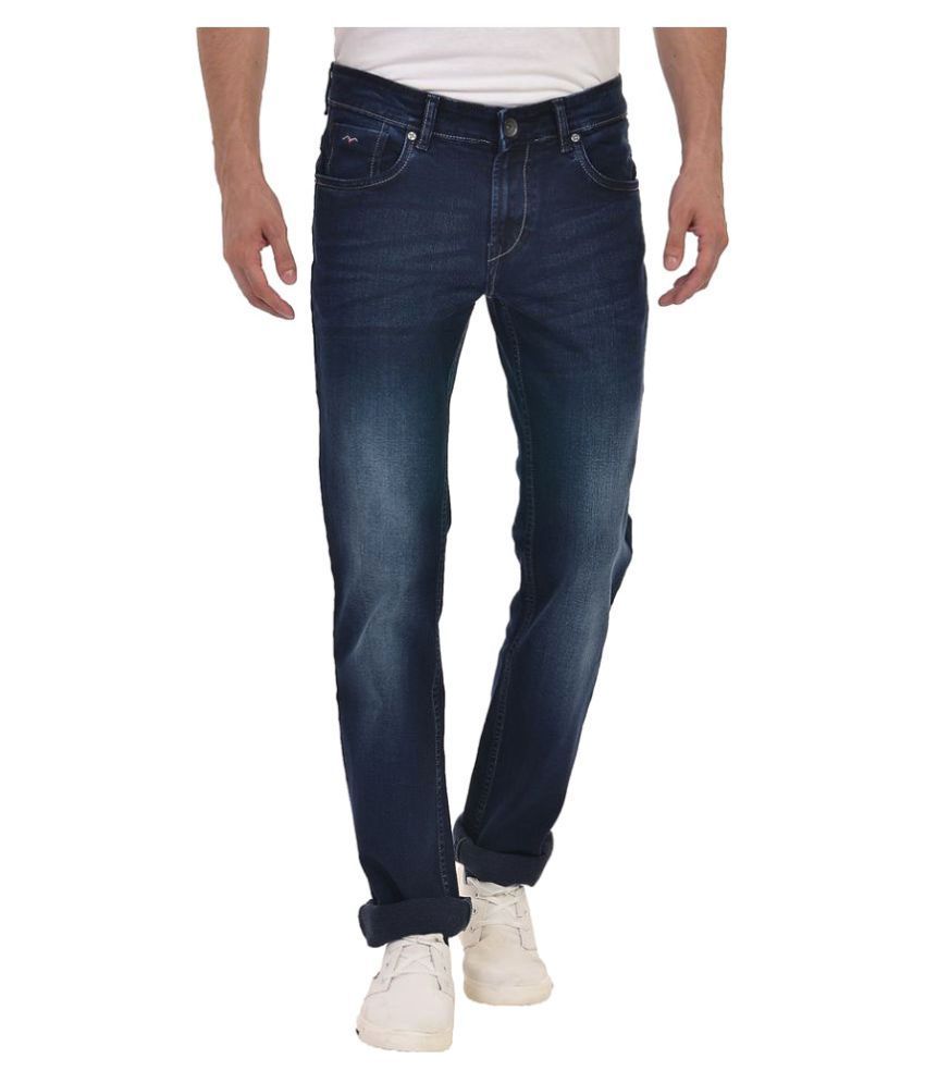 Wert Jeans Blue Skinny Faded
