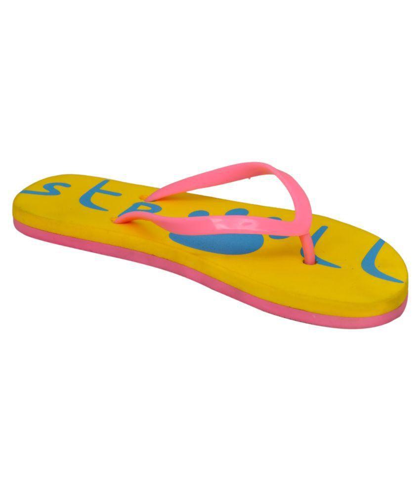 Stroll Pink Slides Flip Flop